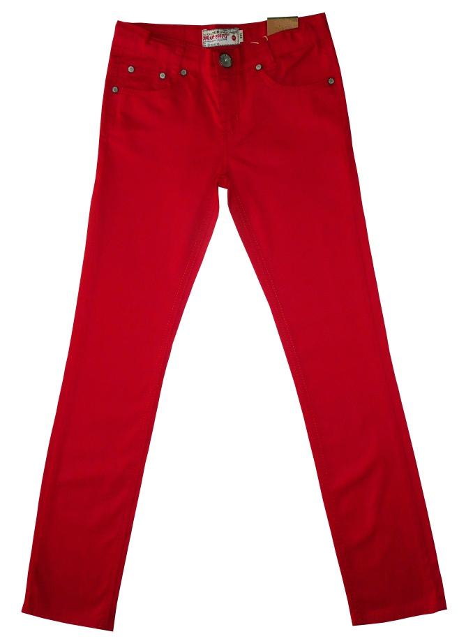 coole angesagte denim jeans in rot f r m dels von blue effect. Black Bedroom Furniture Sets. Home Design Ideas
