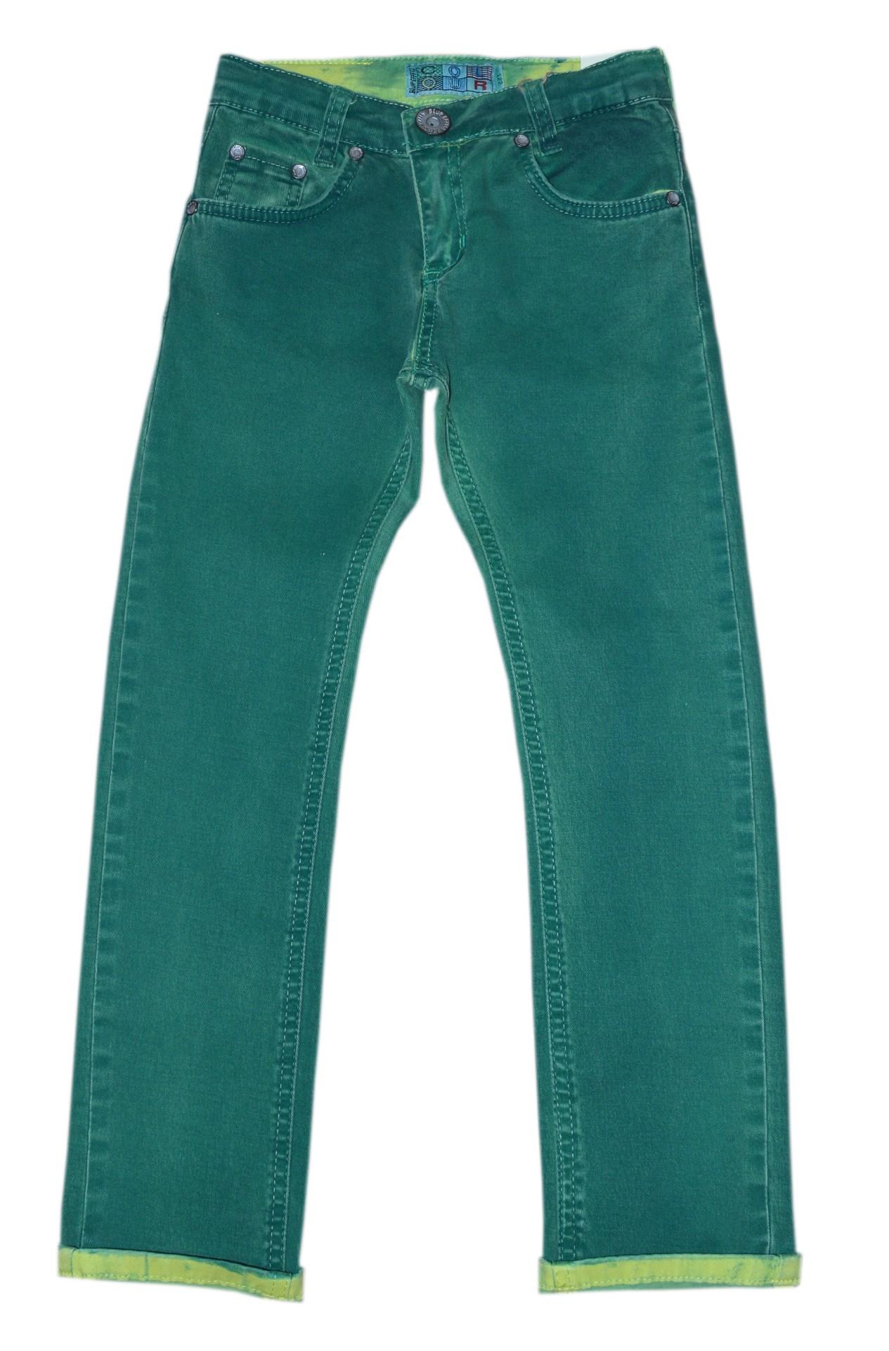 blue effect doppelt gef rbte jungen color jeans limette gr n gr 104 158 ebay. Black Bedroom Furniture Sets. Home Design Ideas