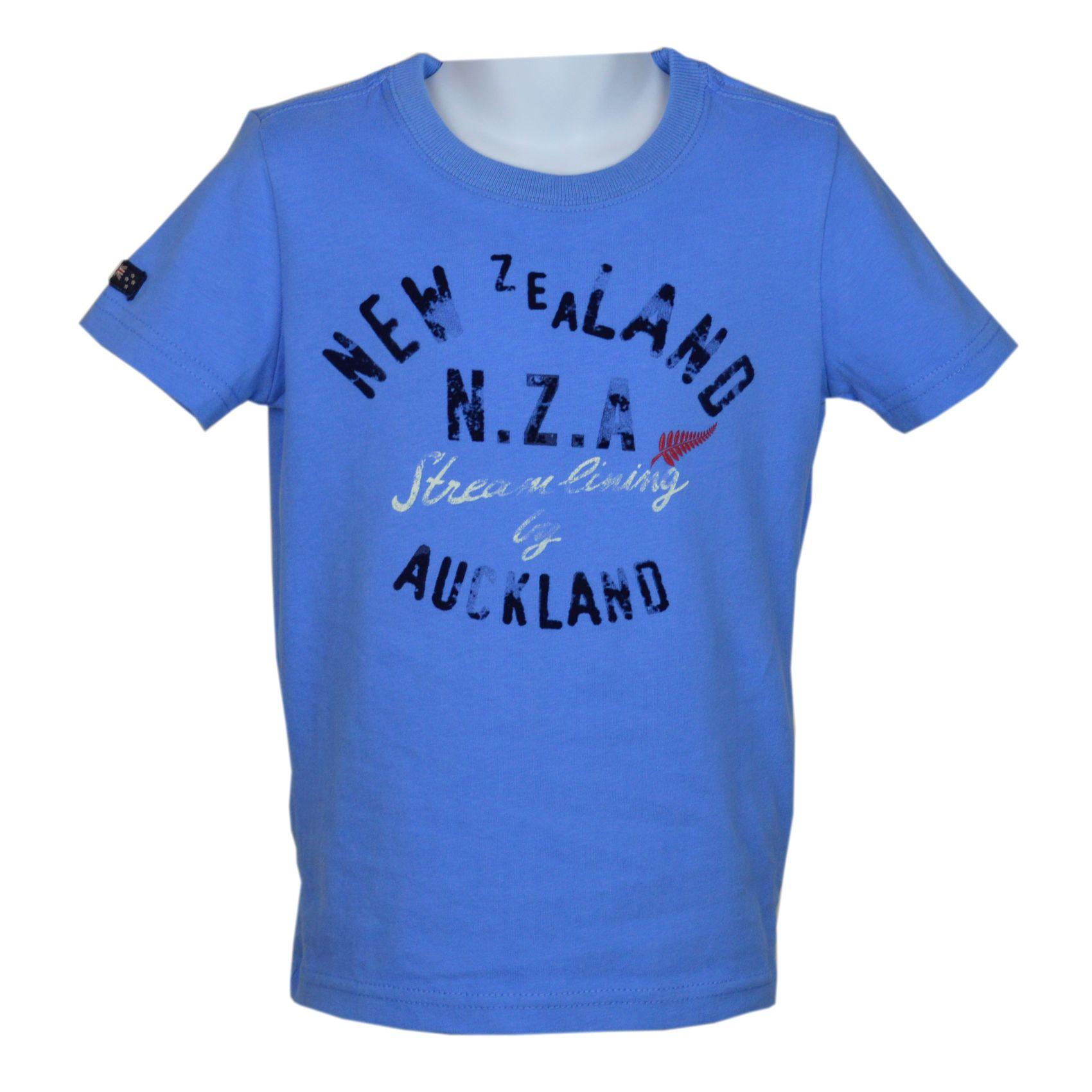 Kindermode von nza hochwertiges shirt f r jungen in for Ocean blue t shirt