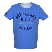 New Zealand Auckland f�r Kids - T-Shirt f�r Jungen in ocean blue